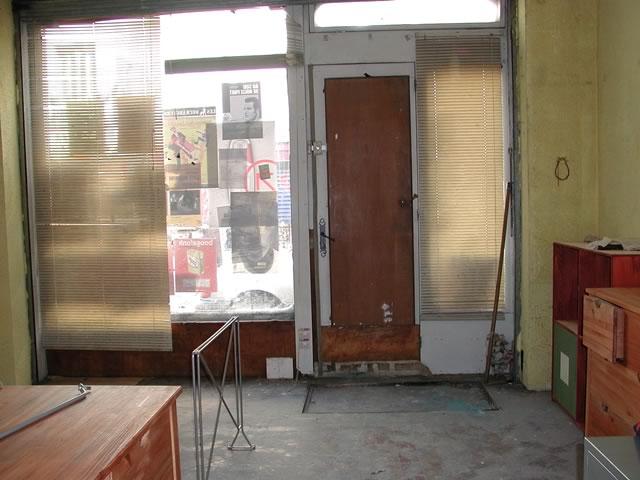 Boutique rue Saint Maur à la signature du bail