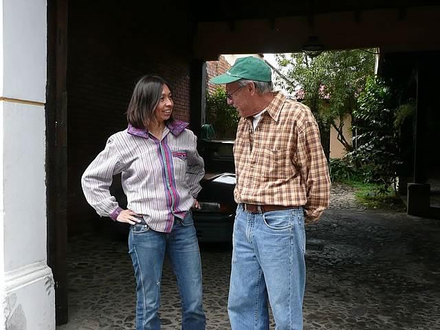 Avec mon père, au Guatemala (2007)