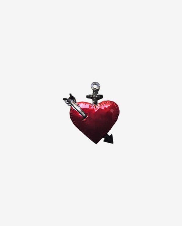 Coeur ex-voto mexicain Sainte Lance