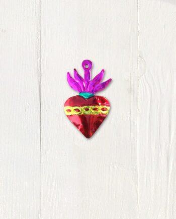 Coeur ex-voto mexicain Sacré Coeur
