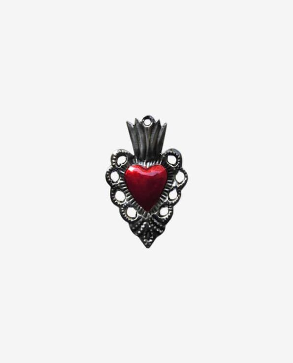 coeur ex-voto mexicain baroque