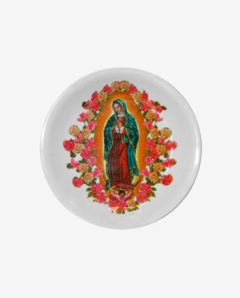 Assiette mélamine Vierge de Guadalupe