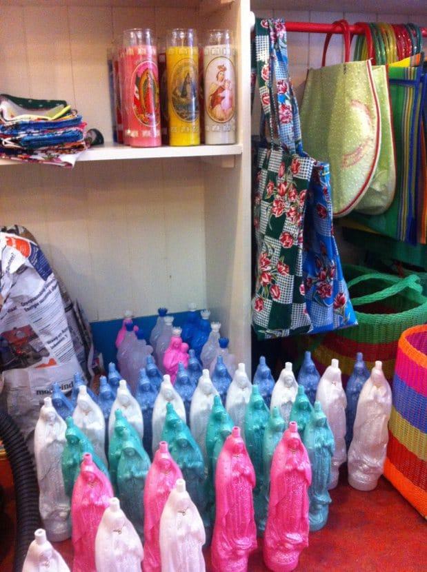 Vierge de Guadalupe bouteille plastique
