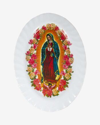 Plateau mélamine Vierge de Guadalupe