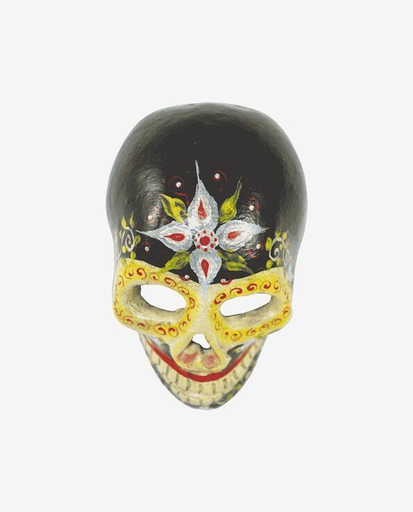 Crâne jour des morts noir