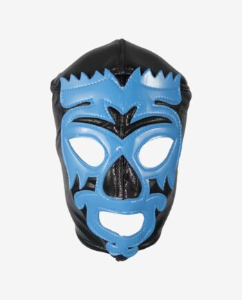 Catcheur mexicain - Masque Mano Negra face