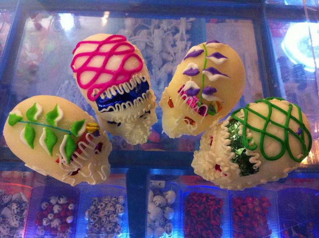 Crânes en sucre mexicains