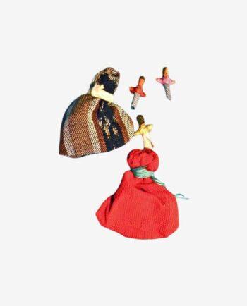 Sachet petites poupées tracas du Guatemala