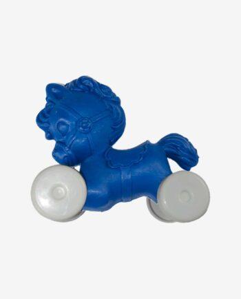poney plastique sur roulettes en provenance du Guatemala - jouet à roulettes
