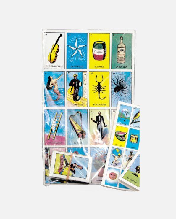 Jeux de cartes - Loteria mexicaine - jeux de hasard - culture populaire