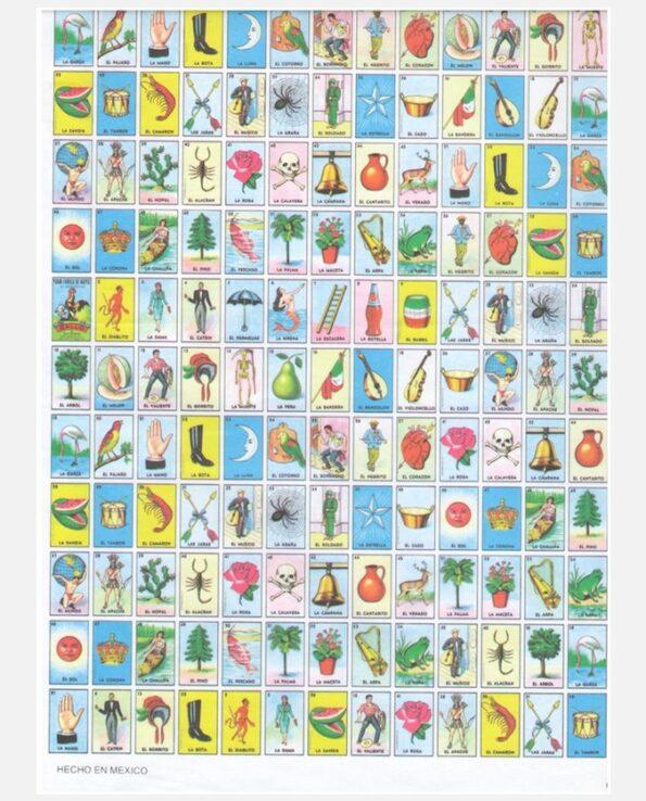 Jeux de cartes - Loteria mexicaine - culture populaire - bingo