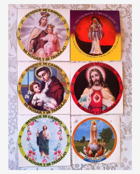 Stickers religieux images sacrées