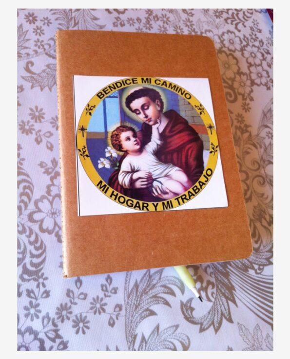 Sticker religieux image sacrée Saint Antoine