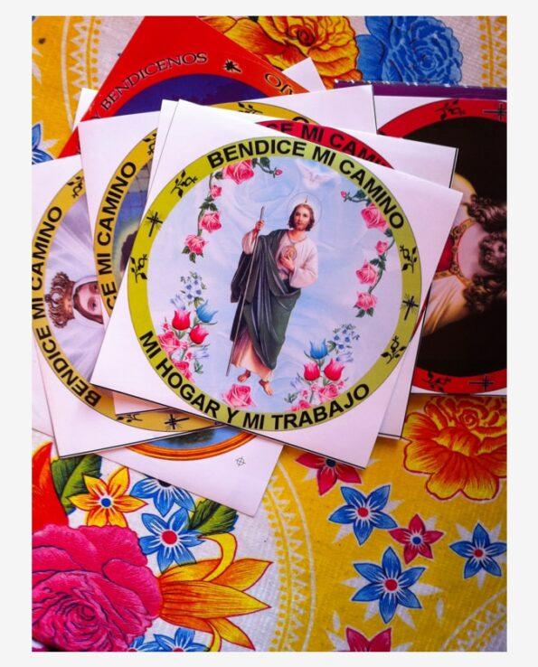 Stickers religieux image sacrées