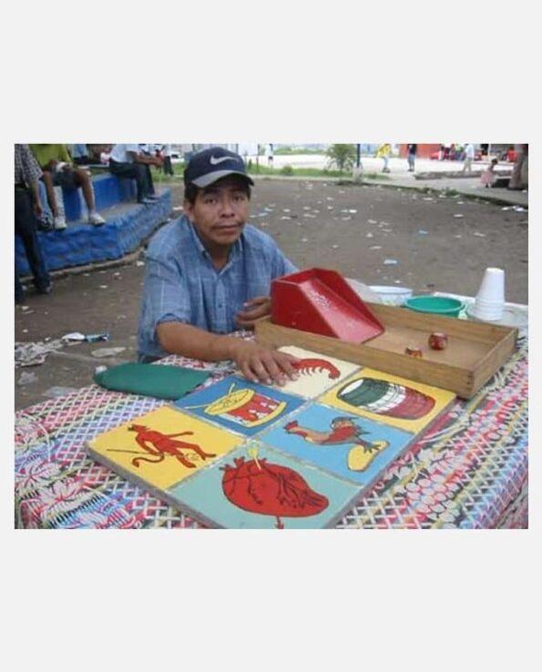 Jeu de loteria au Guatemala