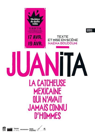 Spectacle Juanita la catcheuse mexicaine qui n'avait jamais connu d'hommes