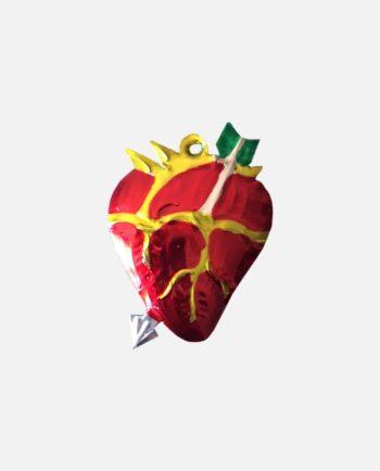 Coeur ex-voto coeur anatomique