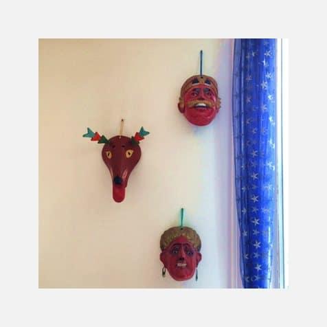 Décoration intérieure Guatemala - Masques