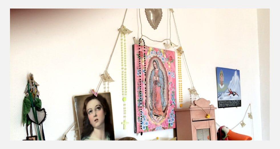 Décoration intérieure Guatemala - Autel Vierge de Guadalupe
