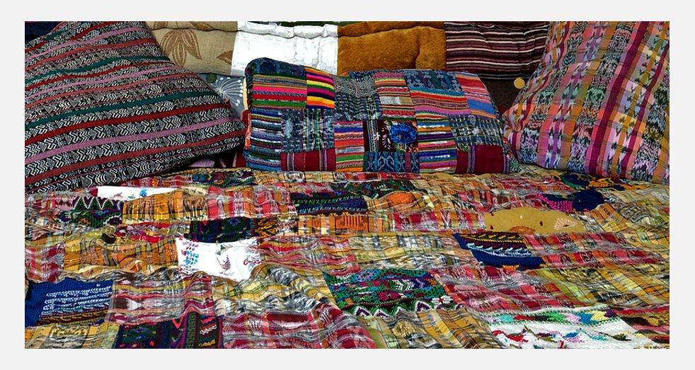 Décoration intérieure Guatemala - Parure de lit