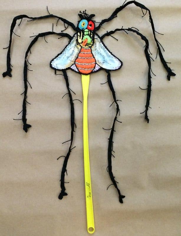 Tapette à mouche mexicaine DIY de Dominique