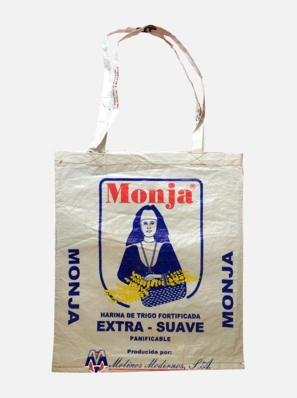 sac cabas écologique recyclé La Monja