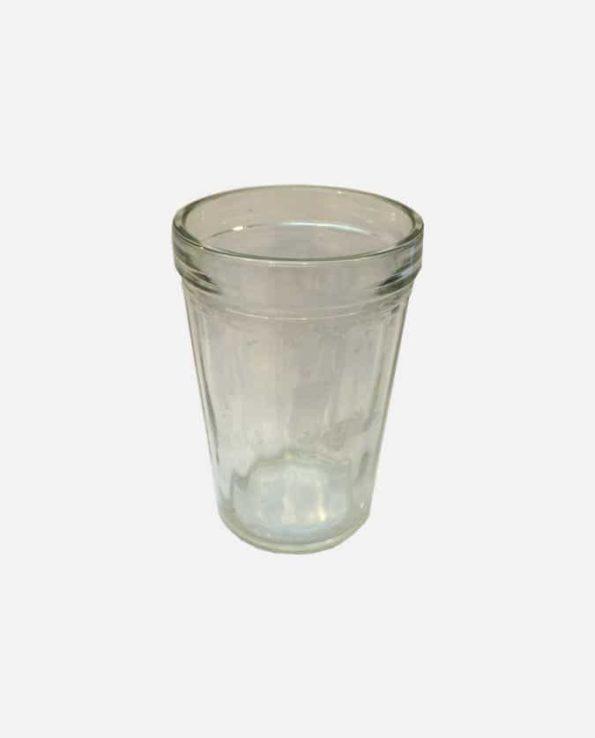 photophore verre bougie