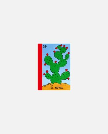 mini carnet kitsch vintage mexico El Nopal (Loteria mexicaine)
