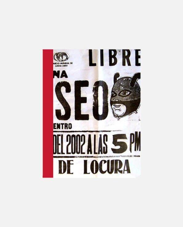 carnet kitsch vintage mexico match de lucha libre