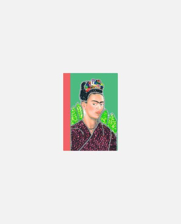 mini carnet kitsch vintage mexico Frida Kahlo