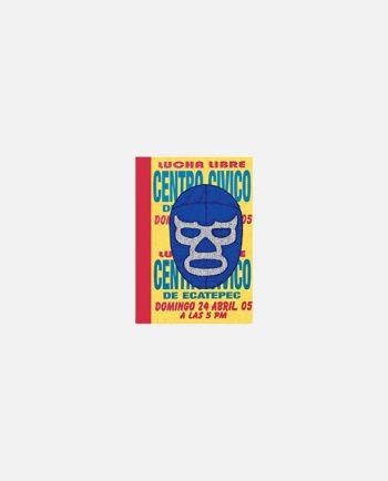 mini carnet kitsch vintage mexico affiche Lucha Libre