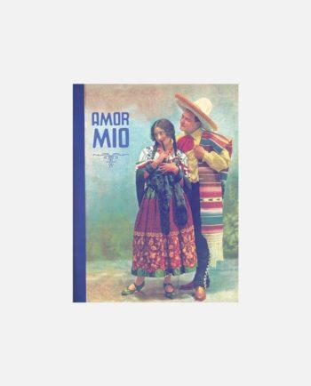 """carnet de poche vintage mexico """"mon amour"""""""