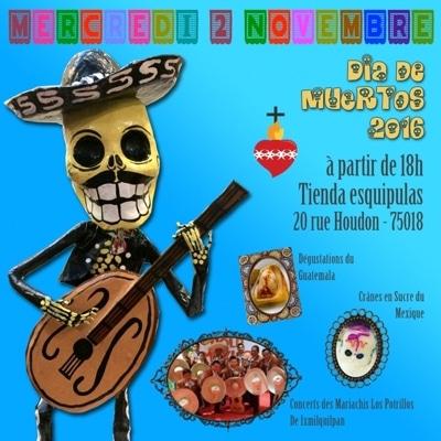 Dia de Muertos Tienda Esquipulas 2016