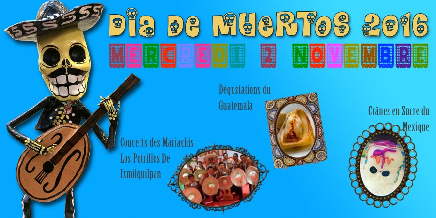 Affiche Dia de Muertos 2016 Tienda Esquipulas