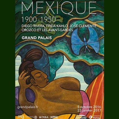 Expo Mexique 1900-1950 au Grand Palais