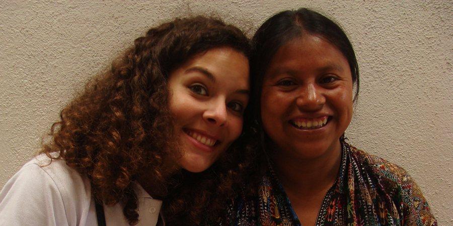 Inès et Juana les bonnes fées de Sanik, tissage traditionnel du Guatemala