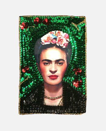 Ecusson à coudre Frida portrait Vogue
