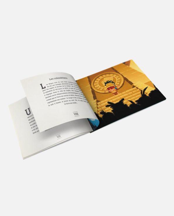 Les Mayas - pour les enfants de 6 à 10 ans - pages intérieures