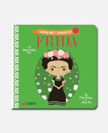 compter avec frida kahlo - livre bilingue pour enfant
