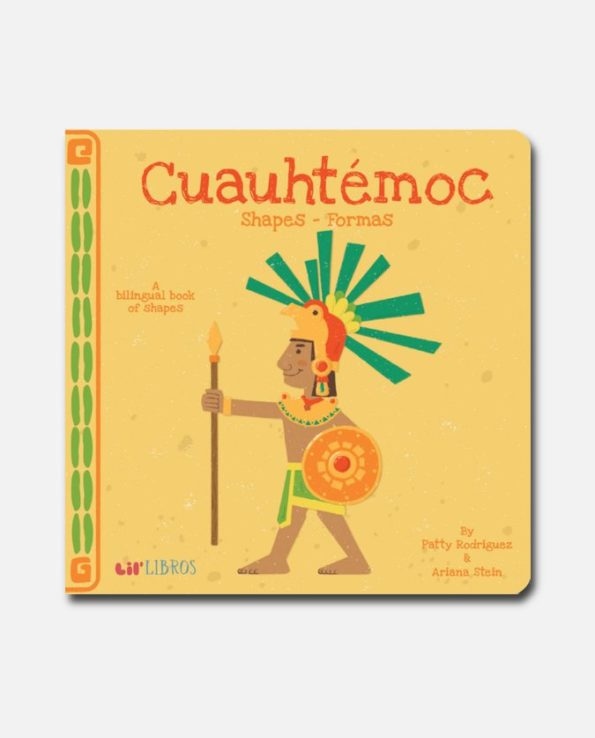 formes avec cuauhtémoc - livre bilingue pour enfant