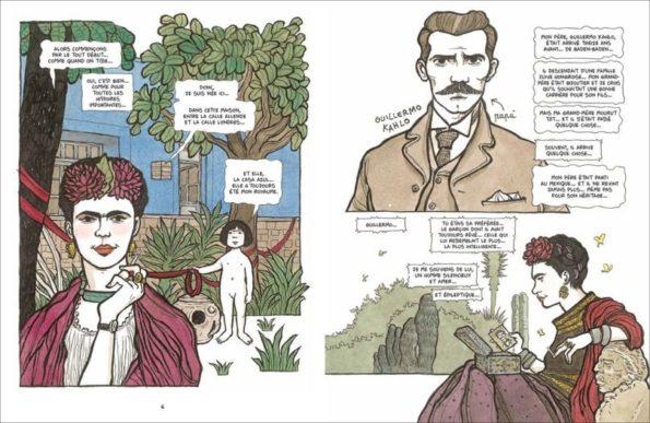 Frida petit journal intime illustré page 01