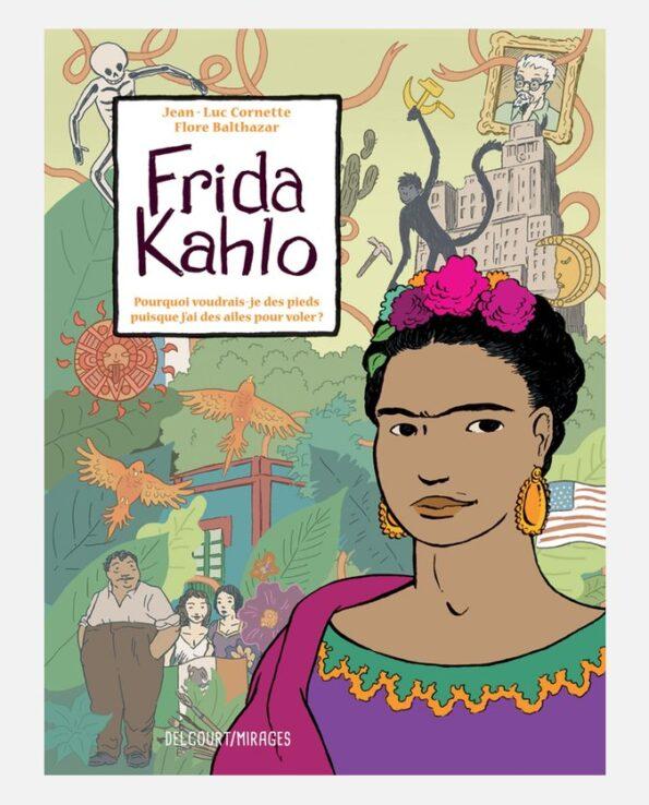 Frida Kahlo biographie dessinée