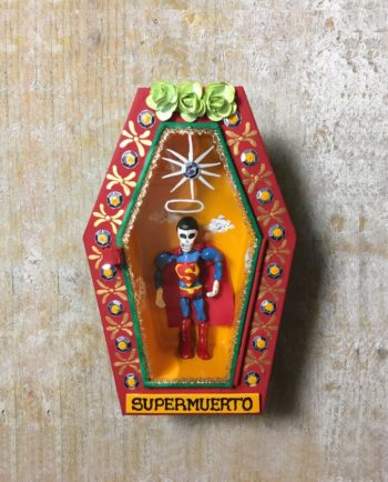 Cercueil Super muerto artisanat mexicain