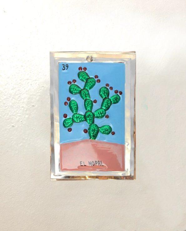 Décoration murale en métal - Cactus