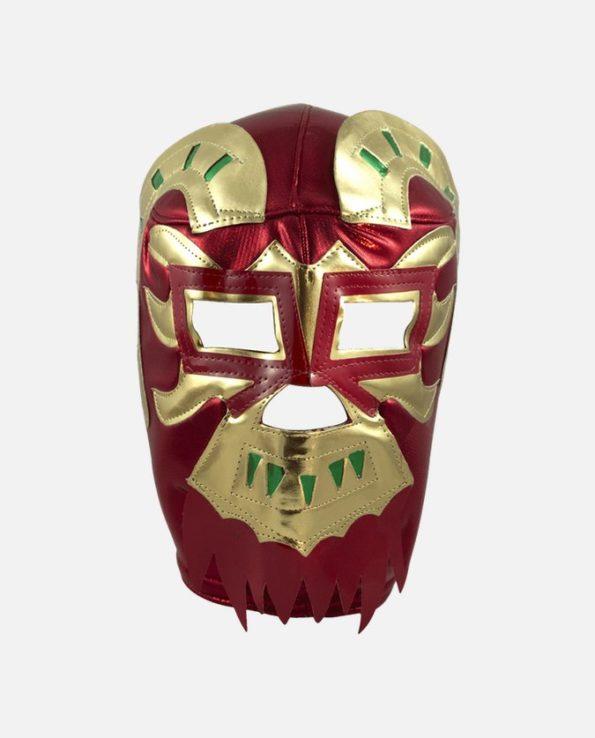 Masque de catcheur mexicain Ephesto (rouge)