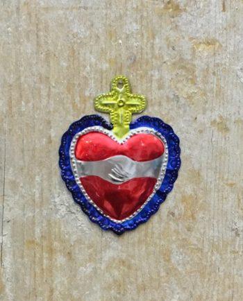 Coeur sacré mexicain - Amitié