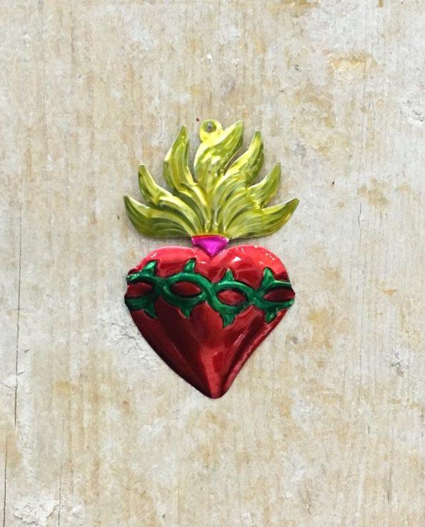 Coeur sacré mexicain - Couronne d'épines