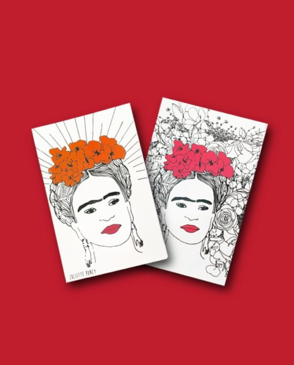 Carnet Frida Kahlo par Juliette Poney