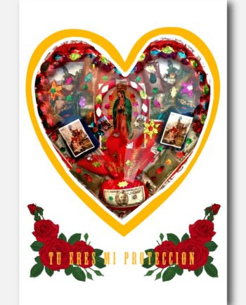 carte postale mexicaine tu eres mi proteccion