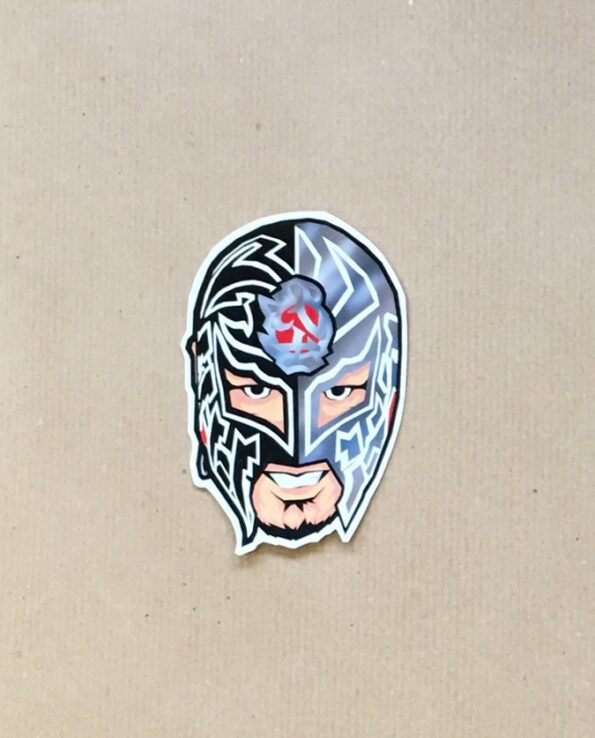 Sticker Luchador Bushi collection grafeur Docteur Rabias